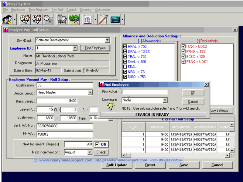 Payroll system: how to make payroll system in visual basic.
